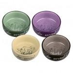 Castron Ceramic Trixie Diferite Culori 300ml/11cm 24793